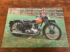 1938 500cc Ariel Red Hunter Model VH National Motorcycle Museum Postcard