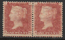 SG43/4 Plate 183 pair Position RB-RC in very  fine and  very fresh  mounted mint