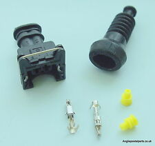2 PIN CONNECTOR for EBERSPACHER & WEBASTO FUEL PUMPS....FREEPOST