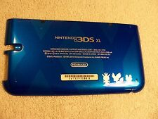 Blue Pokemon Nintendo 3DS XL Housing Back/Bottom Battery Cover Shell Part
