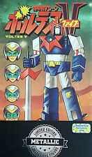 Mindstyle 2016 Philippines TOY CON Voltes V Metallic Vinyl Exclusive Figure New