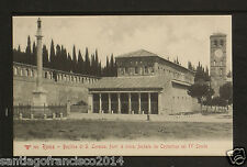 ITALY 430 ROMA -391 Basilica di S. Lorenzo, fuori le mura, fondata da Constantin