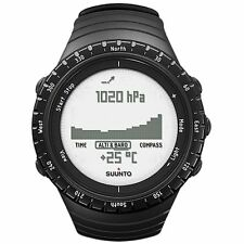 New Suunto Core SS014809000 Black Digital Display Quartz Watch with Altimeter