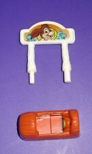 Polly Pocket Disney Magic Kingdom Replacement Part Log Ride Flume Car Splash Mtn