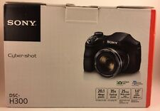 Sony DSCH300/B 20.1 MP Hi Zoom Cybershot Digital Camera -