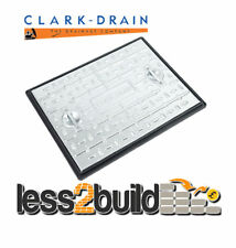 600x450mm Galv ClarkDrain 2.5 Tonne Manhole Drain Cover Access Inspection PC6AG