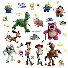 TOY STORY 3: Wall Stickers Glow in Dark Room Decor Decals Jessie Buzz Woody Star