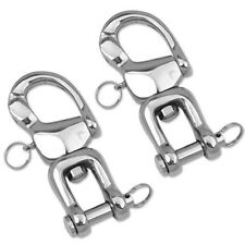 BooM Pro Quick Release Hook/Snap Shackle Horse Harness Trace Carriage (Pair) 5 ""