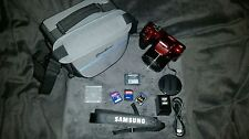 Samsung WB1100F 16.4MP CCD Smart WiFi NFC Dig. w/ 35X Opt Zoom w/ Extra's / FS