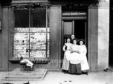 Photo. 1911-3. . Trenton, New Jersey.  Opdyke's Store - Owner & Workers