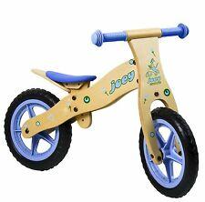 Hudora robustes Kinder Laufrad Kinderrad Fahrrad Lernlaufrad (12 Zoll) aus Holz