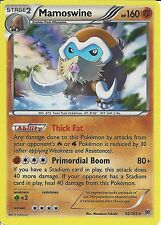 POKEMON CARD XY BREAK THROUGH - MAMOSWINE 82/162 HOLO