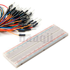 Breadboard Power Supply Kits with 65pcs Jumper Wire Cable For Arduino Project MA