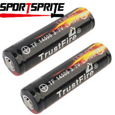 2pcs TrustFire 14500 3.7V 900mAh Protected PCB Rechargeable Li-ion Battery Cell