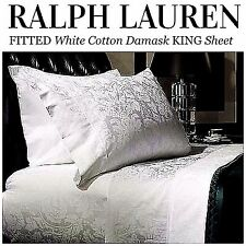 NIP Ralph Lauren * KING * Randolph FITTED Sheet * Apt No. One Duke * DEVONSHIRE