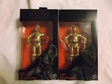 Hasbro Star Wars The Black Series C-3PO Act.Figures. Walgreens Ex. + Resis. Base