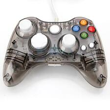 New Glow Wired USB Game Pad Controller for Microsoft Xbox 360 Crystal Black