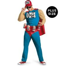 THE SIMSON DUFFMAN COSTUMES NEW XL SIZE Classic Muscle AdultX-Large (42-46)