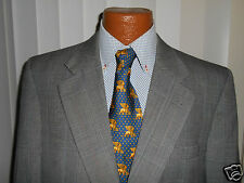BURBERRYS GRAY GLEN PLAID Suit  SIZE 42 R  From USA EXCELLENT.!!