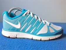 Nike Lunarelite 2 Women's Running Shoes White/ Aqua Blue Green Size 7.5(US)
