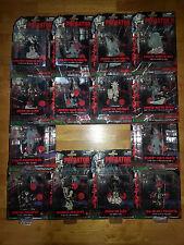 """PREDATOR 2 - Chimasuta by Kotobukiya - 4"""" 4 inch Figures complete set of 14 2005"""