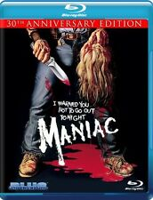 Maniac [30th Anniversary Edition] [2 Discs] (2010, Blu-ray NIEUW)2 DISC SET