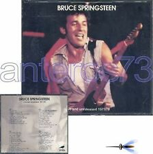 """BRUCE SPRINGSTEEN """"LIVE AND UNRELEASED"""" BOX 4 CD ITALY - SEALED"""