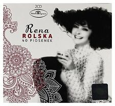 Rena Rolska - 40 piosenek (CD 2 disc) NEW