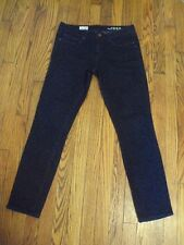 Women's Gap 1969 Always Skinny Jeans Cheetah Print Black & Navy 28
