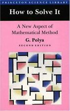 How to Solve It : A New Aspect of Mathematical Method by Polya (1988, Paperback)