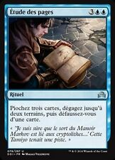 MTG Magic SOI - (x4) Pore Over the Pages/Étude des pages, French/VF