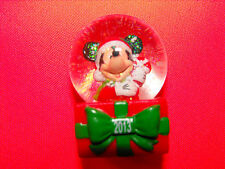 ~JC PENNEY Black Friday Disney Mini Mickey Mouse SNOWGLOBE Snow Globe 2013 NIB ~