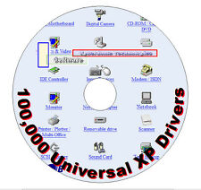 100,000 Windows XP Drivers (a must have buy for XP!!)