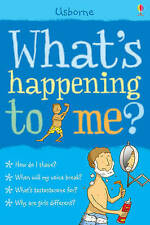 What's Happening to Me?: Boy by Alex Frith Nancy Leschnikoff (9780746076637)