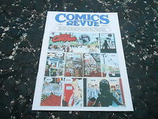 #196 COMICS REVUE vintage comic strip magazine (UNREAD - NO LABEL )