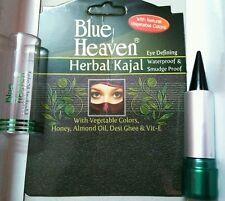 Dark Black Eyeliner Herbal Kajal Kohl Waterproof for Women Eyes Makeup Eye Liner