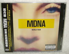 Madonna MDNA World Tour Taiwan 2-CD w/OBI (GIRL GONE WILD VOGUE LIKE A PRAYER)