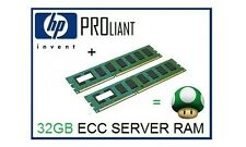 32GB (2x16GB) ECC Memory Ram Upgrade for the HP Proliant DL160se G6 Servers