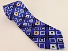 NEW ROBERT TALBOTT BEST OF CLASS BRIGHT 3D USA HAND SEWN WOVEN SILK TIE
