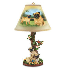 Pug Accent Table Lamp  -  Dog Bradford Exchange