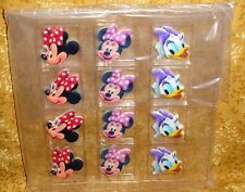 Minnie Mouse & Daisy Edible Sugar Cupcake Toppers,DecoPac,12 ct,Multi-Color