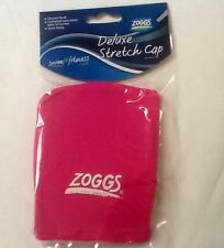 Zoggs Spandex Fabric Deluxe Swimming Cap Hat  - Many Colours hat New