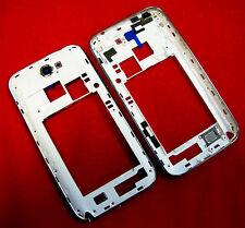 Samsung Note 2 N7100 Mittelrahmen Mittel Gehäuse Rahmen Cover Kamera Linse Weiß
