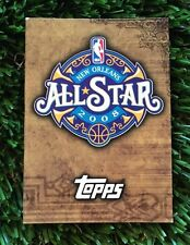 2008-09 TOPPS CARMELLO ANTHONY ALL STAR AUTO MAGNETIC BOOKLET #ED /999 RARE