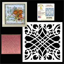 PRINCESS'S  GARDEN WINDOW FRAME metal die Cheery Lynn cutting dies FRM126 square