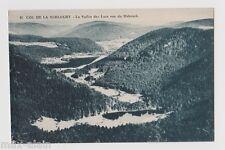 """CPA """" Col de la Schlucht - La Vallée des Lacs vue du Hohneck"""