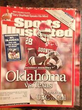 October 11 2004 Adrian Peterson Oklahoma Sooners Football Sports Illustrated