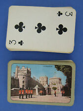 Monarch Windsor Castle Novelty Deck Playing Cards #8 Changing of the Guard