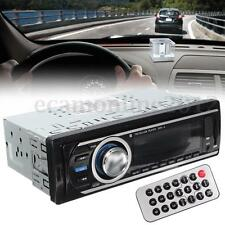 Digital In-Dash Car Stereo Head Unit Audio Radio Player MP3 WMA FM AUX SD USB