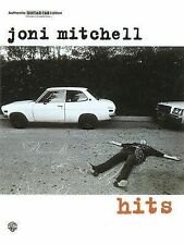 Joni Mitchell -- Hits: Authentic Guitar TAB ~ Joni Mitchell PB
